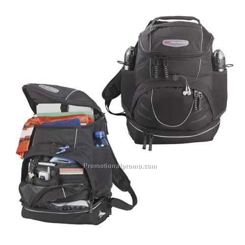 Backpack - High Sierra Compu-Daypack, 1200D Poly, 19.5