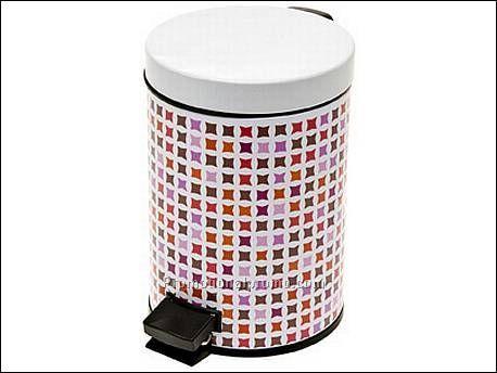 Bathroom waste bin mosaic pink china wholesale bpb59820 for Pink bathroom bin
