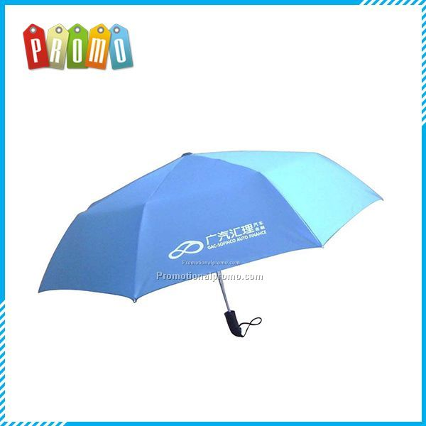 Promotional 3 folded umbrella