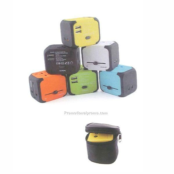 Multi-function travel adapter