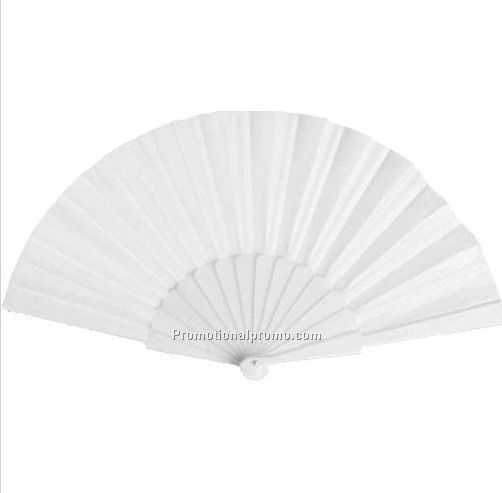 Customized logo plastic fan