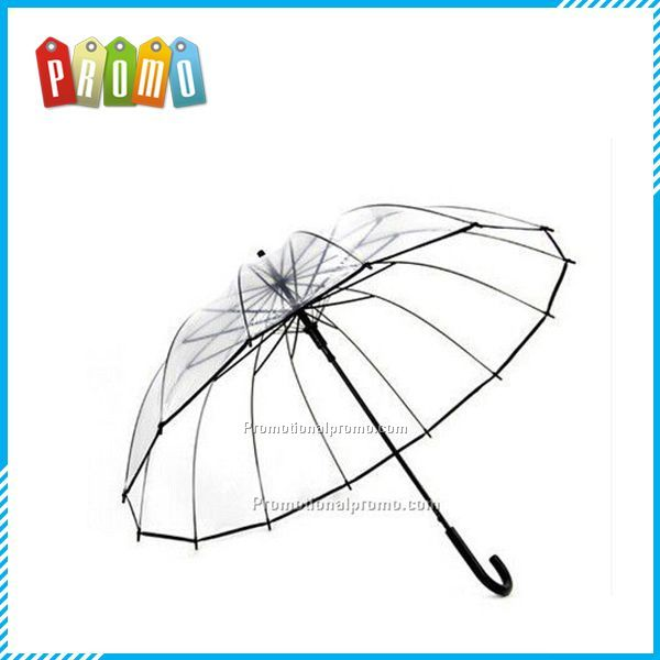 transparent plastic umbrella
