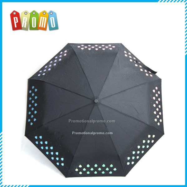 Design colour changing umbrella