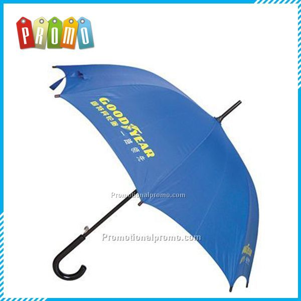 Traditional gentlemen's metal shaft  stick umbrella