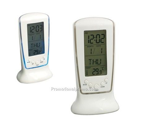 Multi-functional Digital alarm clock and electronic color clock