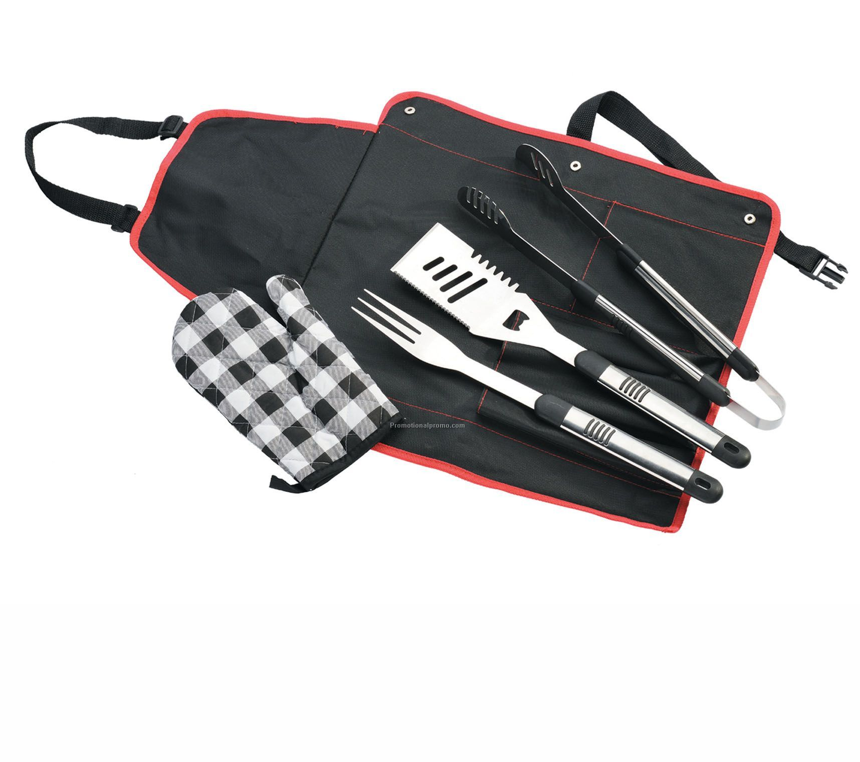 Portable Barbecue Apron Tool Set
