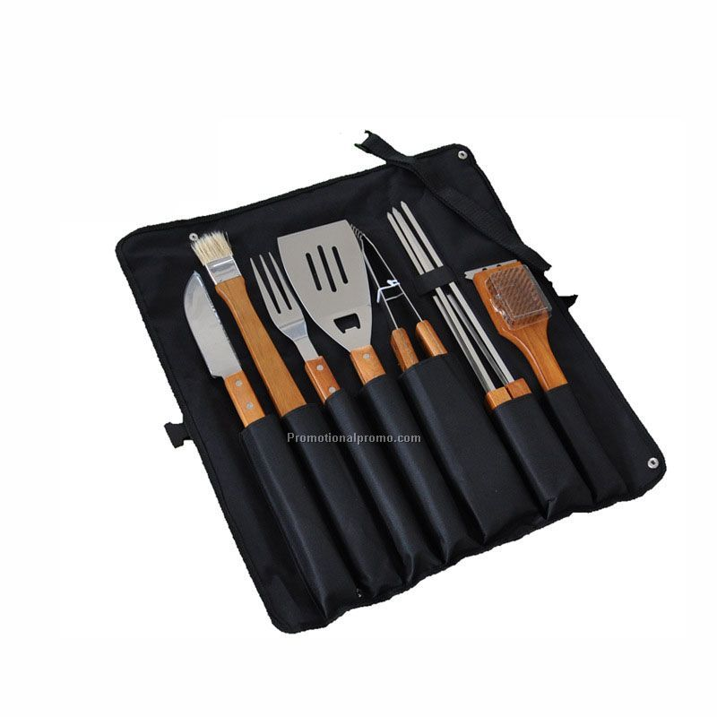 12 Pieces Barbecue Apron Tool Set