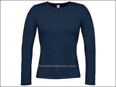 B&C Women-only LSL Navy