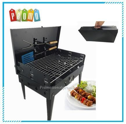 Wholesale folding portable BBQ grill stove, outdoor grill charcoal bbq smoker stove