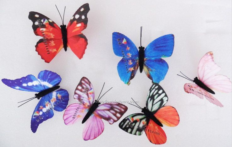 Cloth simulation Butterfly, Butterfly Pins
