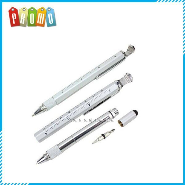 Multi-functional ballpoint pen with bottle opener