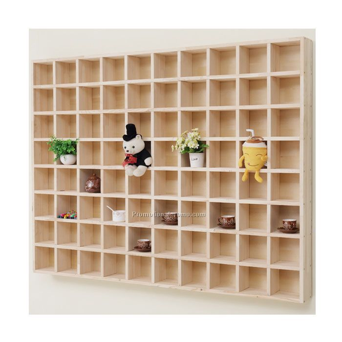 OEM wood display cabinet shelf