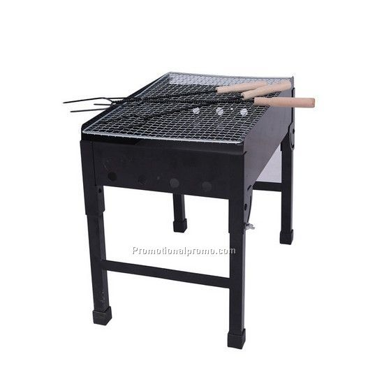 Outdoor camping barbecue grill