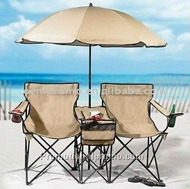 Beach set, Beach umbrella and Chair