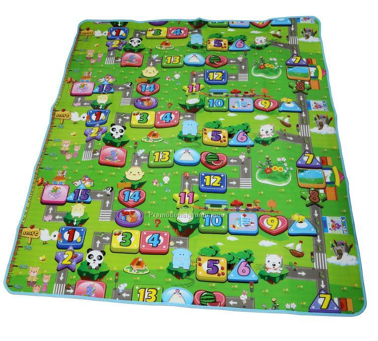 Cartoon picnic blanket mat