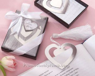 Fashion Promotion Double Heart Bookmark