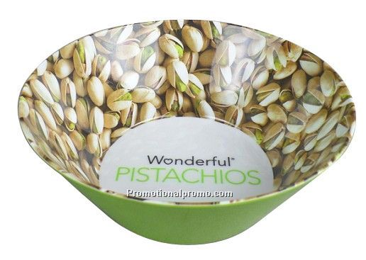 melamine cereal bowl with 4/c process design