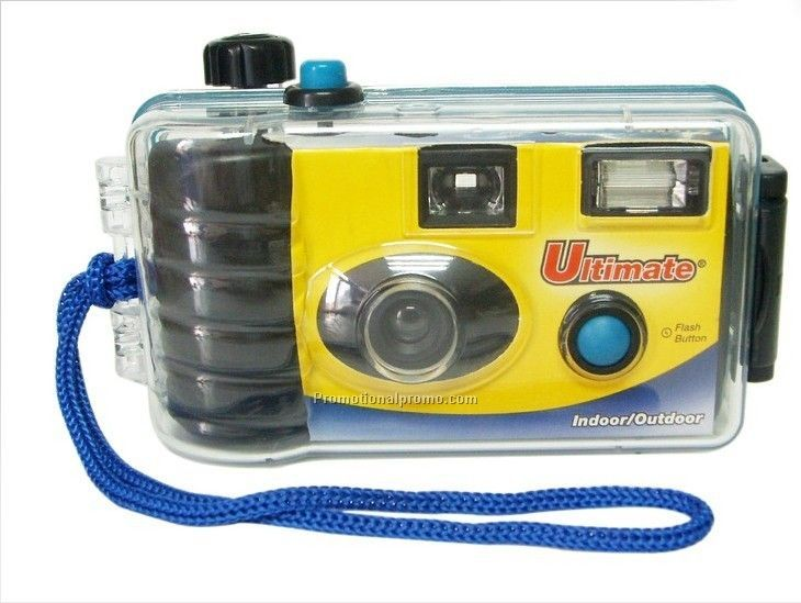 Disposable Waterproof Camera With Flash And 27 Exposures