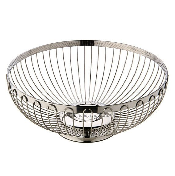 High Quality Metal Stainless steel Fruit Basket