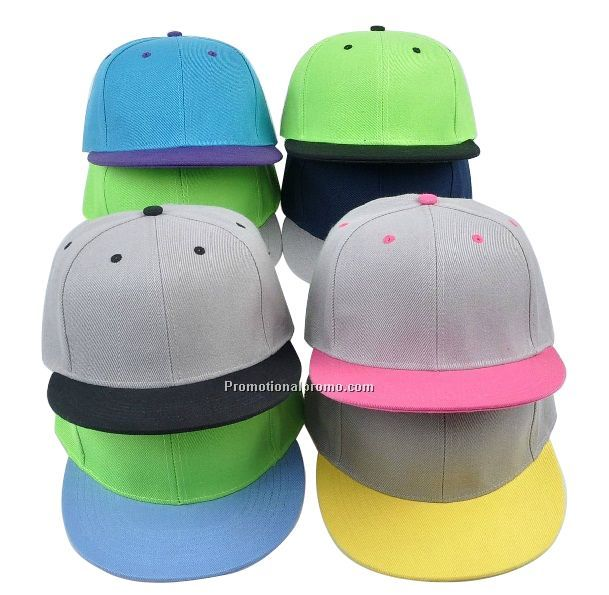Two tone colorful snapback, lots of choice