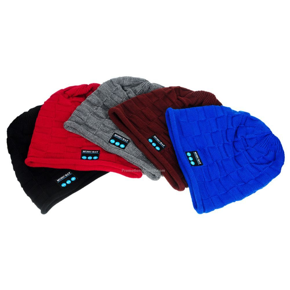 Amazon Hot Sale Winter Beanie Bluetooth Hat