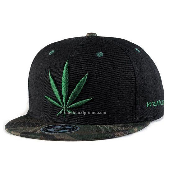 Embroidery snapback hat