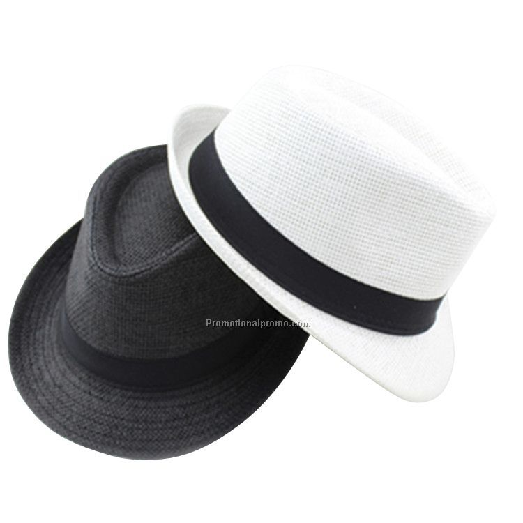 Promotional Colorful Outdoor Beach straw Cowboy Hat for adult and children