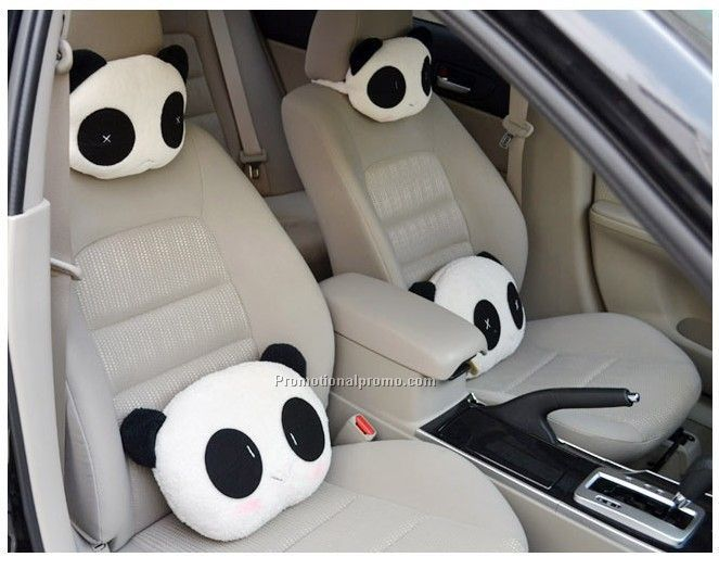 Fashion cartoon car head rest pillow