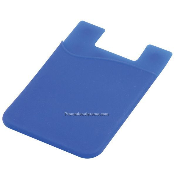 Silicone 3M Sticker Phone Card Holder
