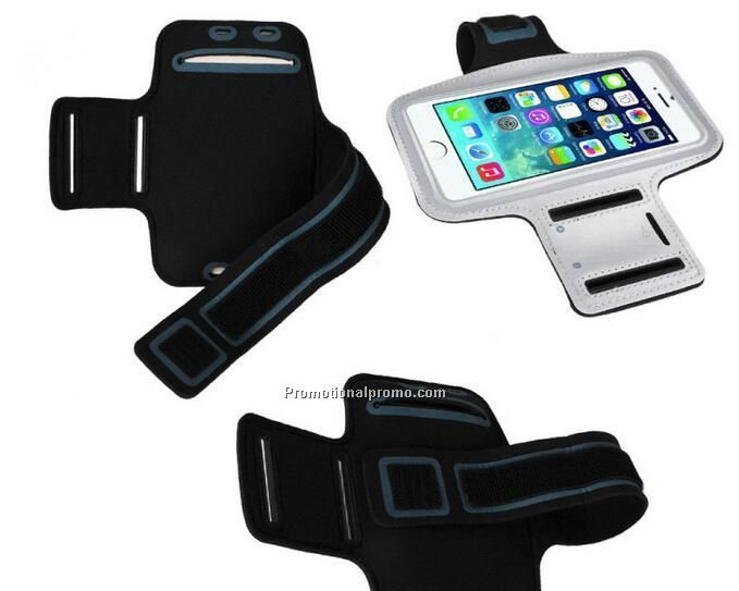 Waterproof sports arm band case for smartphone