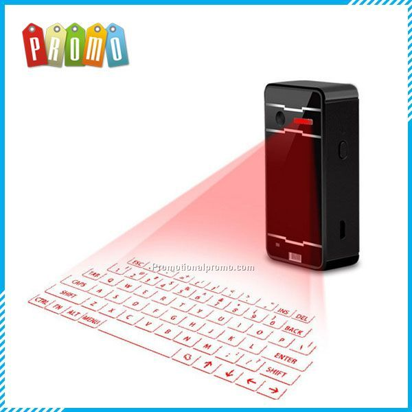 Wholesale Mini Wireless Projection Virtual Laser Keyboard, bluetooth virtual projection keyboard