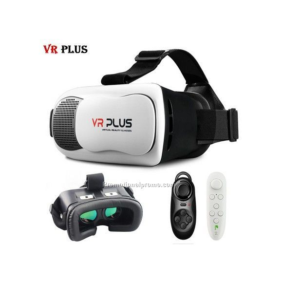 VR BOX 3.0 VR Plus Virtual Reality Headset 3D Glass