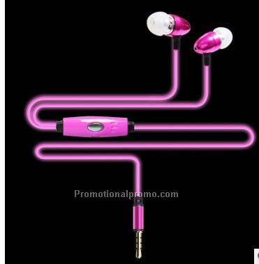 Luminous ear phones