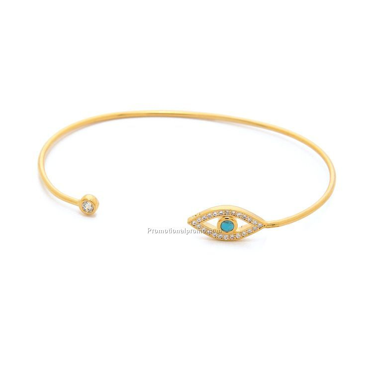 Casual style the evil eye bracelet