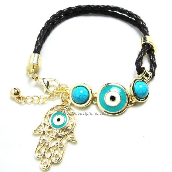 Handmade the evil eye bracelet
