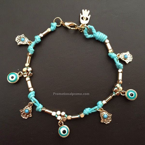 Turkey's blue eyes bracelet