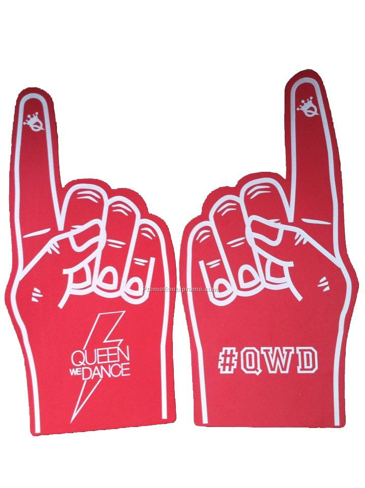 Cheering EVA foam hands for sport events