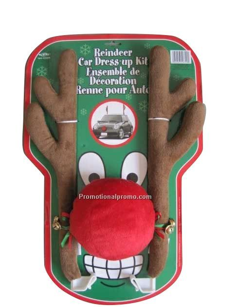 Christmas Antlers for Car Decoration