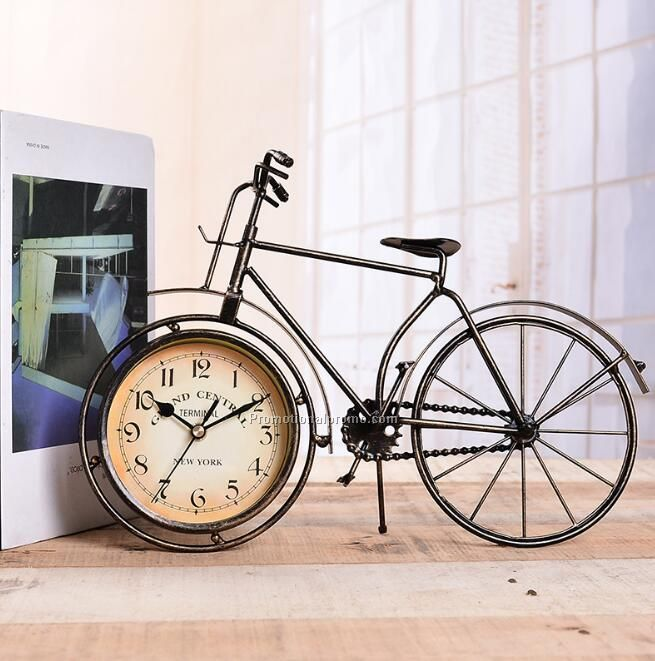 Creative bicycle clock