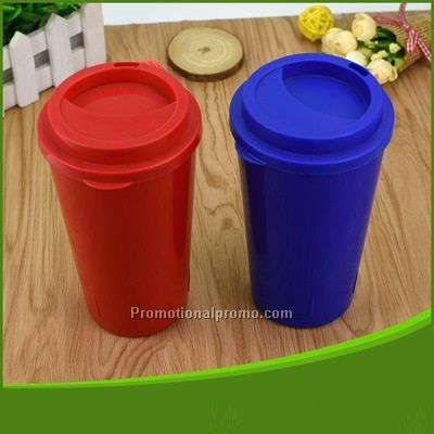 Single layer Food Grade PP Plastic Coffee Mug