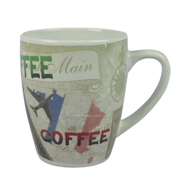 12 oz Customized printing Ceramic Mug