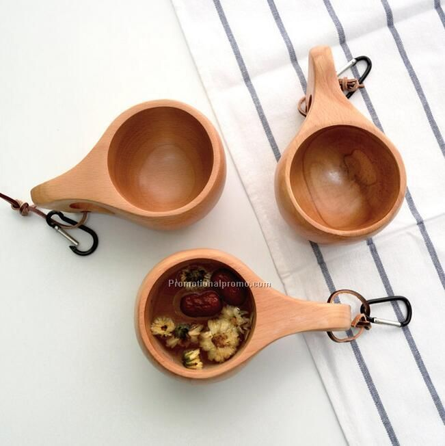 Wood travel cup Kuksa