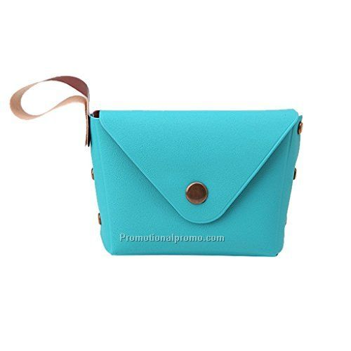 Cute Handy colors PU leather coin wallet, coin purse