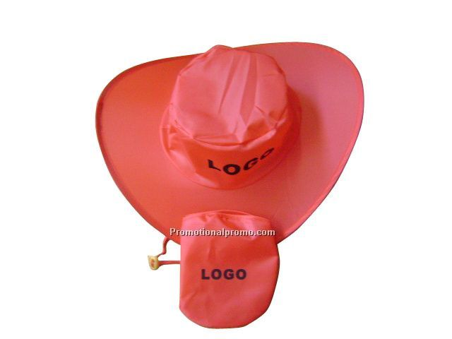 Collapsible hat with bag