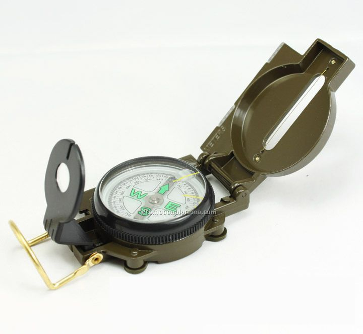 American multi-functional Army green Metal compass