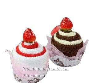Mini cake Towel