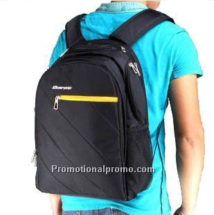Nylon laptop backpack, Computer backpack