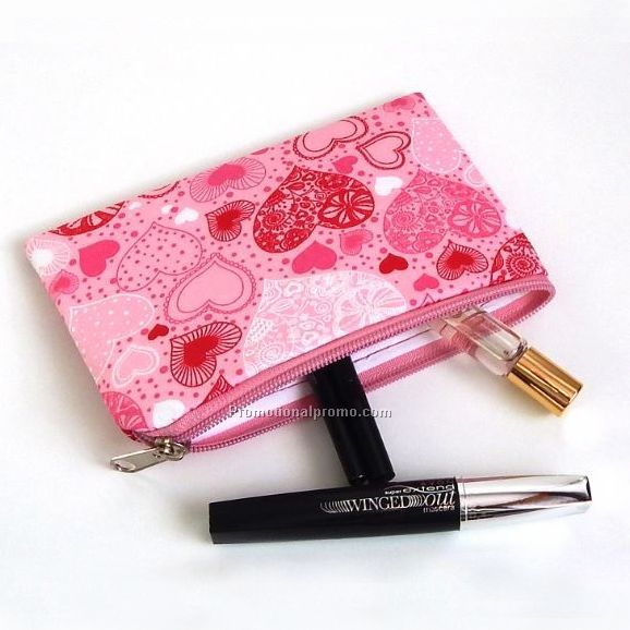 Polyester Cosmetic bag with customized design