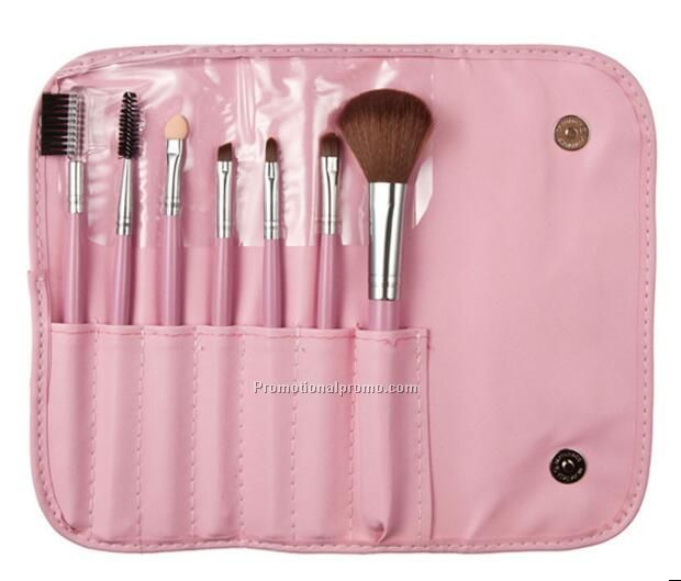 Fashion 7PCS Makeup Brushes with Bag Case