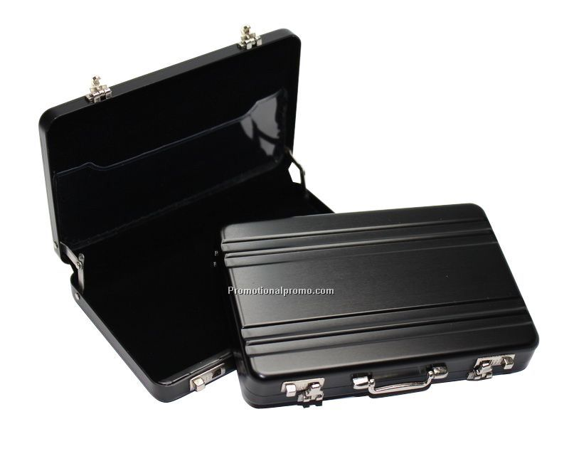 Premium Mini Briefcase Business Card Holder